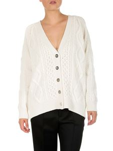 3.1 Phillip Lim - Ivory color Aran cable cardigan
