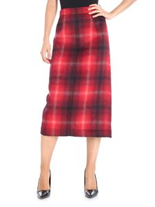 N° 21 - Longuette skirt with check pattern