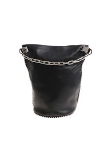 Alexander Wang - Black bucket bag with chain and clip