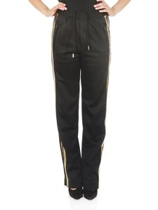 Dsquared2 - Technical fabric pants with golden sequins