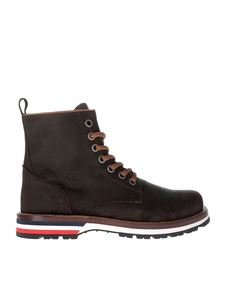 Moncler - Dark brown New Vancouver boots