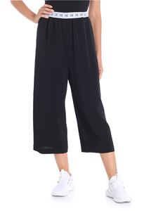 I'm Isola Marras - Black pants with branded waist