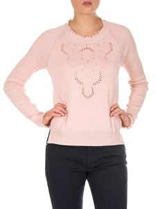 Fendi - Pink Tropical Breeze Lace pullover