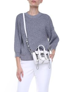 3.1 Phillip Lim - Grey wool and mohair pullover