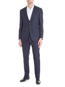 Corneliani - Blue Prince of Wales Academy two buttons suit