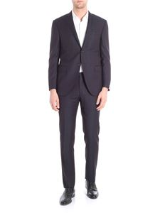 Corneliani - Academy black and blue two button suit