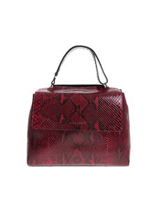 Orciani - Sveva Diamond ruby ​​medium shoulder bag
