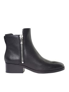 3.1 Phillip Lim - Black leather Alexa ankle boots
