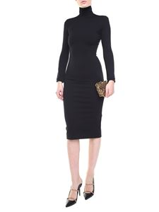 Dsquared2 - High-neck tight stretch dress