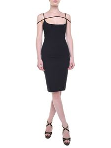 Dsquared2 - Black sheath dress with straps
