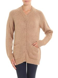 A.P.C. - Camel colored knitted cardigan