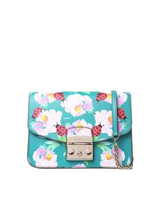 Furla - Small Metropolis bag with ladybugs print