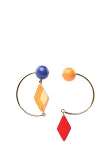 Marni - Multicolor hook earrings