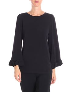 Michael Kors - Black shirt with wide sleeves