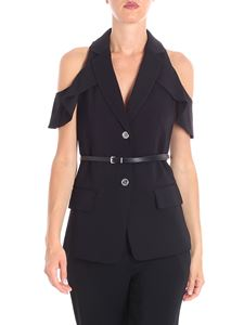 Michael Kors - Black waistcoat with cut-out shoulders