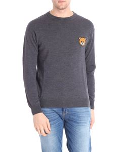 Moschino - Teddy Bear dark grey crewneck pullover