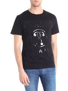 Moschino - Black t-shirt with question marks