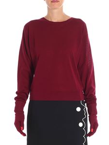 Vivetta - Yamada burgundy sweater with gloves included