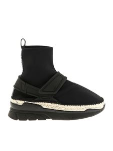 Kenzo - Black sneakers with rope insert