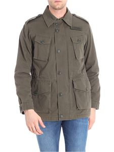 Aspesi - Green Vancouver padded field jacket