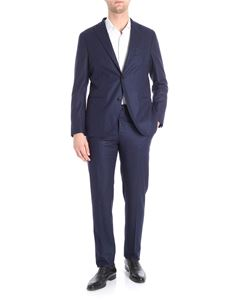 Boglioli - Blue virgin wool suit