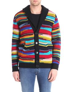 Missoni - Cardigan with multicolor inlay