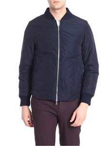 Officine Générale Paris 6e - Blue lined bomber jacket