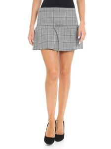 Red Valentino - Prince of Wales patterned skirt