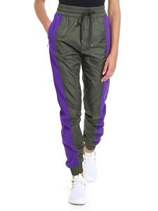 N° 21 - Army green trousers with purple stripes