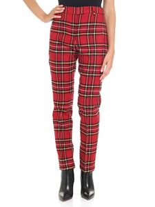 Ermanno Scervino - Red check trousers