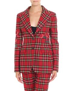 Ermanno Scervino - Two-button tartan jacket