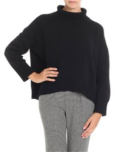 Ermanno Scervino - Black boxy knitted sweater