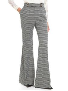 Ermanno Scervino - Black and white houndstooth trousers
