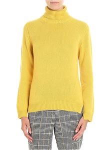 Ermanno Scervino - Yellow turtleneck pullover