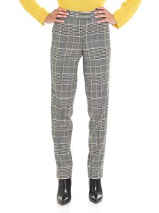 Ermanno Scervino - Prince of Wales black and white trousers