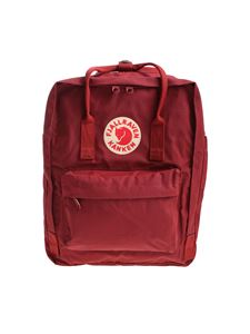 Fjallraven - Classic dark red backpack with logo