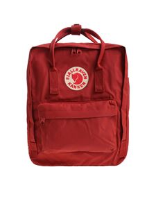 Fjallraven - Classic red brick backpack with logo