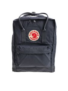Kanken Fjall Raven - Classic dark grey backpack with logo