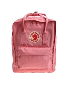 Fjallraven - Classic pink backpack with logo