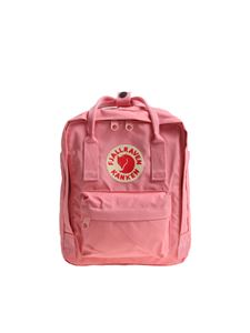 Fjallraven - Mini pink backpack with front logo
