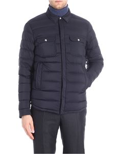 "Moncler - Blue ""Caph"" down jacket"
