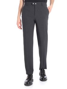 Kenzo - Grey trousers with white detail