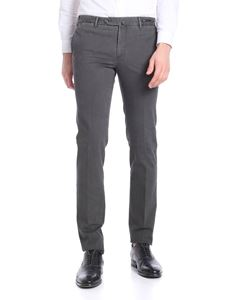 PT01 - Stretch cotton fustian gray trousers