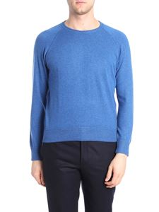Barba - Light blue cashmere sweater