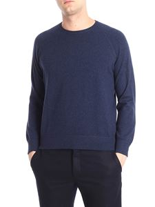 Barba - Blue cashmere sweater