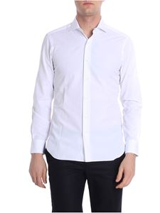 Barba - White striped shirt