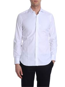 Barba - White cotton shirt