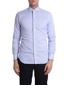 Barba - Blue and white striped shirt