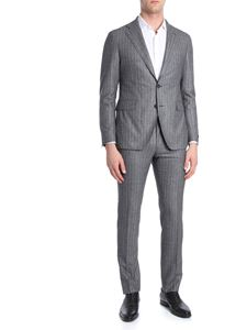 Tagliatore - Two-button herringbone suit
