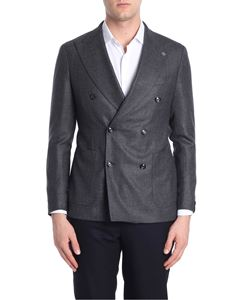 Tagliatore - Charcoal double-breasted jacket